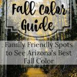 Family Friendly Fall Color Spots in AZ