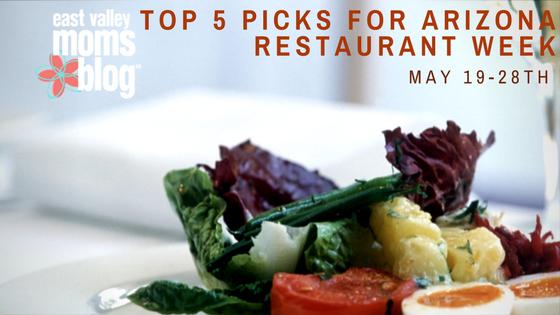 Spring Arizona Restaurant Week | East Valley Moms Blog