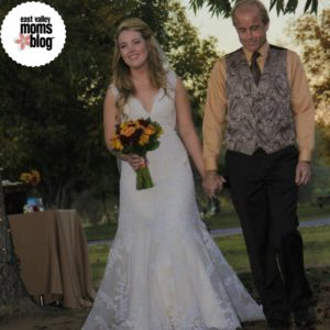 Dad and daughter down the aisle | East Valley Moms Blog