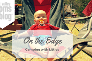 Camping with little Asher