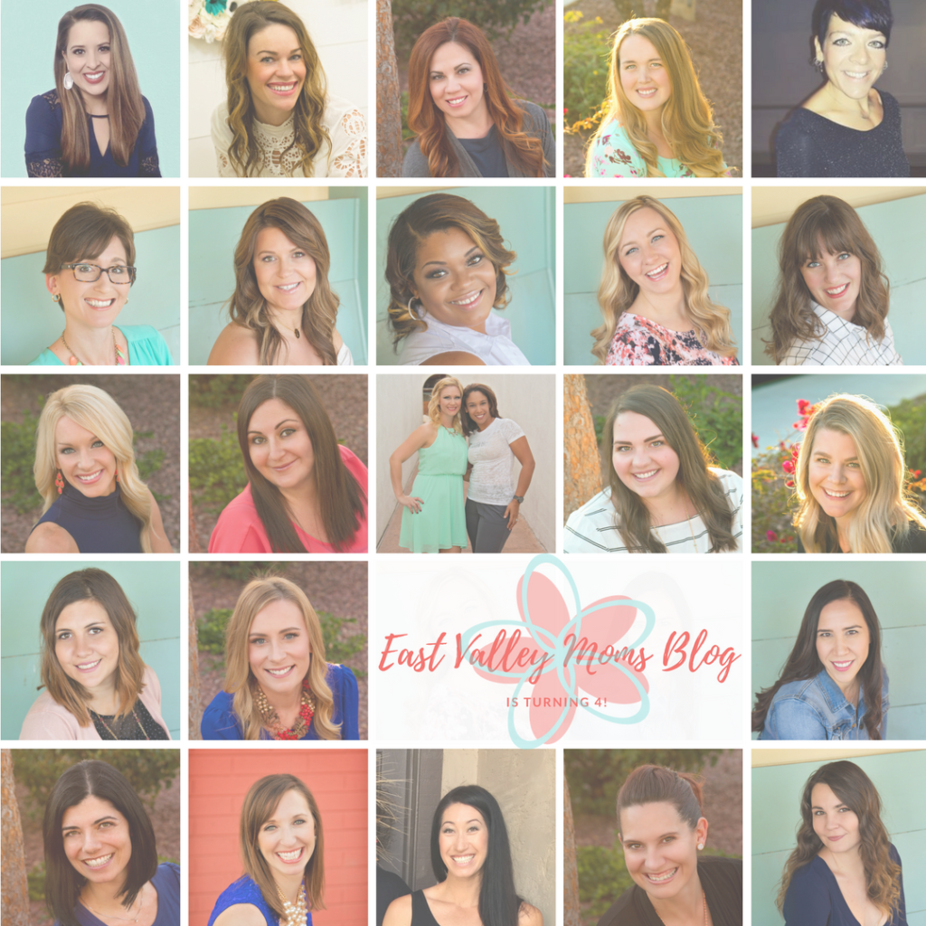 East Valley Moms Blog Turns 4