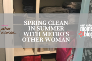 Spring Clean in Summer with Metro's Other Woman | East Valley Moms Blog