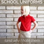 Why I Love School Uniforms (and why I hate them a little bit too)