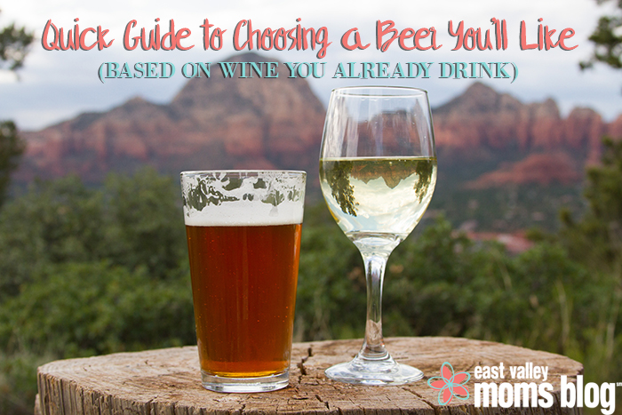 Choosing a beer you'll like based on wine | International Beer Day