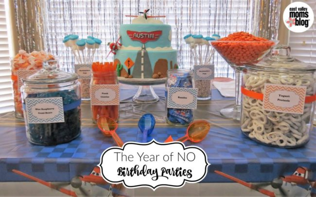 he Year of No Birthday Parties
