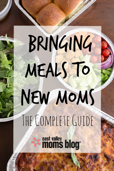 Meal ideas and more for new parents!