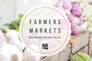 East Valley farmer's market guide