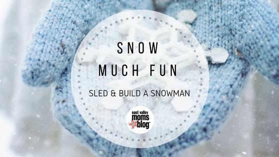 Snow Much Fun in AZ | East Valley Moms Blog