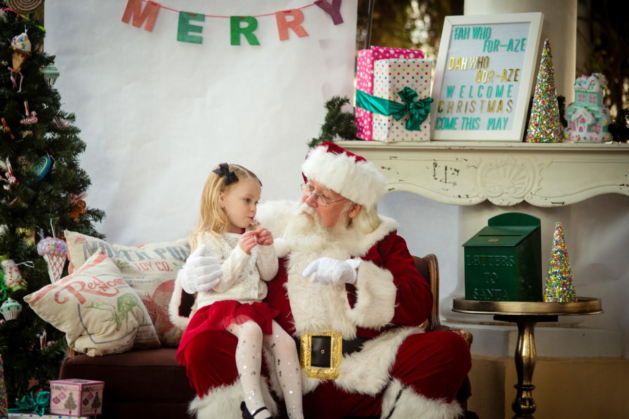 East Valley Moms Blog Breakfast with Santa 2017
