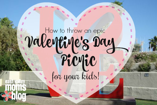 How to host an epic Valentine's Day picnic with your kids!