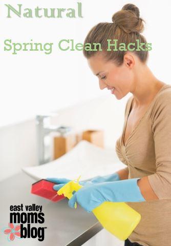 Natural Spring Clean Hacks | East Valley Moms Blog