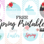 FREE Spring Printables | East Valley Moms Blog