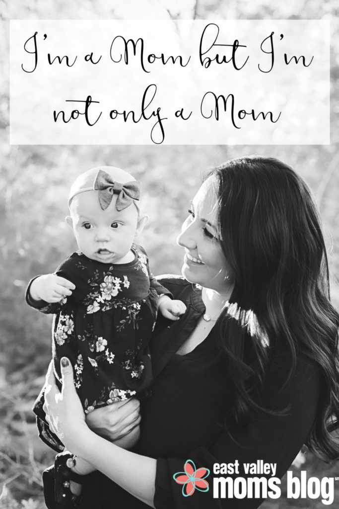 Motherhood doesn't have to be my everything, but being a mother is now part of everything that defines me - and I kinda love it.