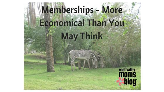 Memberships - More Economical Than You May Think