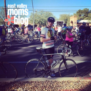 Look out for my Husband | Arizona Cyclists | East Valley Moms Blog