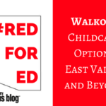 #RedforED Walkout | Childcare Options East Valley and Beyond