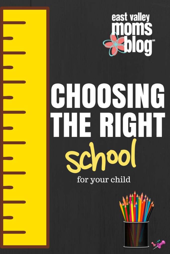 Choosing the right school for your child | East Valley Moms Blog
