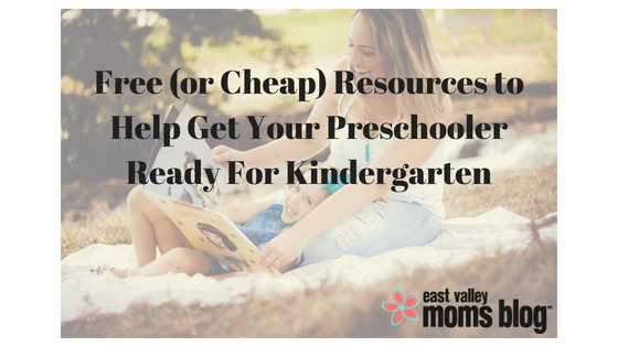 Free (or Cheap) Resources to Help Get Your Preschooler Ready For Kindergarten | East Valley Moms Blog