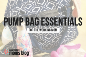 Pump Bag Essentials for the Working Mom | East Valley Moms Blog