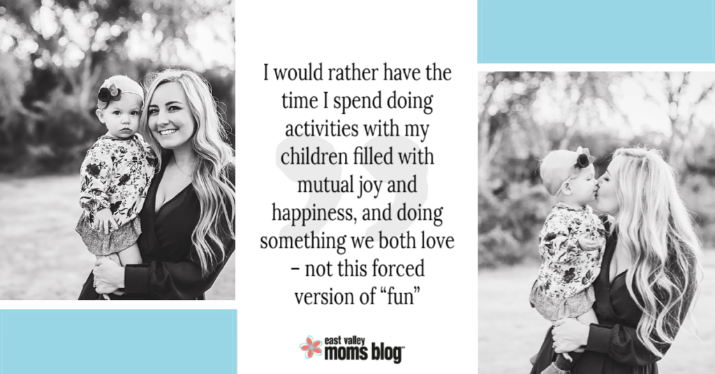 Mom confession: I love spending time with my kids, but I don't like playing with them. Here's how we tackle play time in our home.