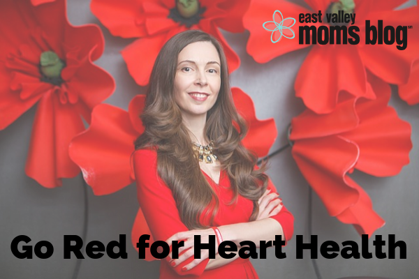 Go Red for Heart Health | East Valley Moms Blog