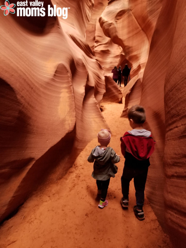 Tips for visiting Antelope Canyon, Horseshoe Bend and other gorgeous sites in and around Page, Arizona - with toddlers and kids in tow!