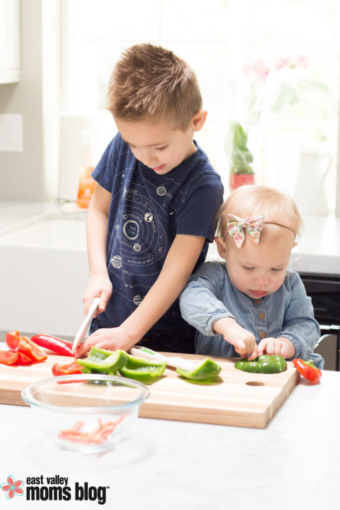 Cooking with kid can be fun but also intimidating. Here are my best tips for making time in the kitchen with kids stress-free and enjoyable!
