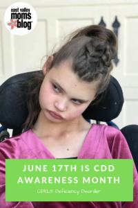 CDKL5 Deficiency Disorder Awareness | East Valley Moms Blog