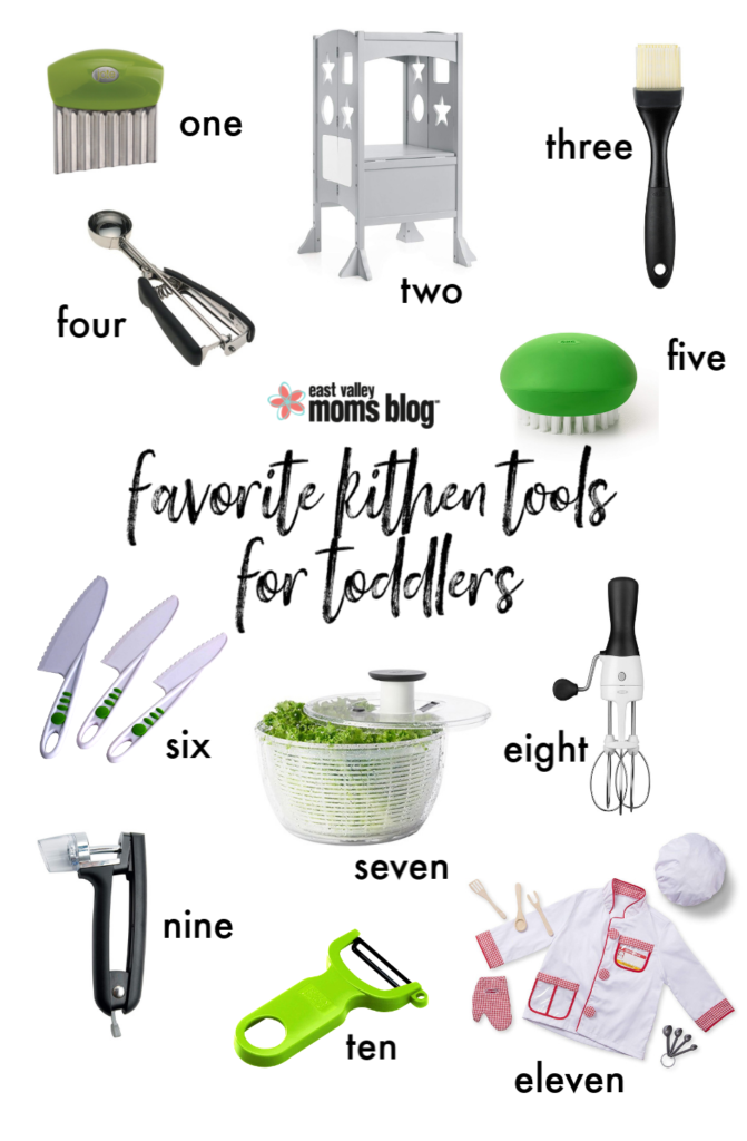 our favorite kitchen tools for cooking with kids