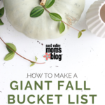 Giant Family Fall Bucket List + Printable