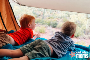 Camping Doesn't Have to Be Scary | East Valley Moms Blog