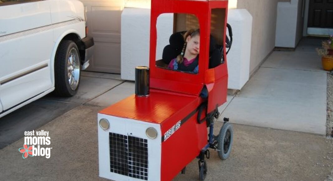 Adapting Halloween for wheelchairs | East Valley Moms Blog
