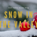 Snow In the East Valley