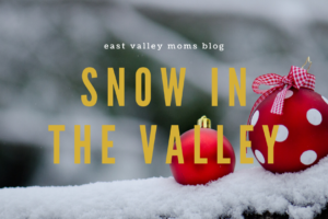 2019 Snow in the East Valley