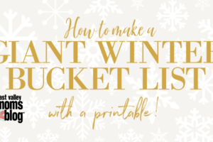 Giant Printable Winter Bucket List for Families